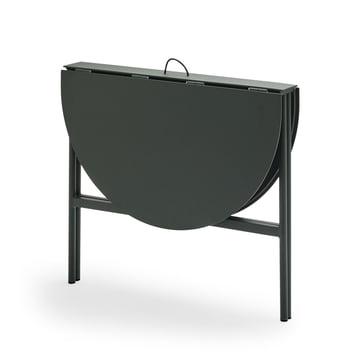Der Skagerak - Picnic Tisch 105 cm in jagdgrün - zusammengeklappt