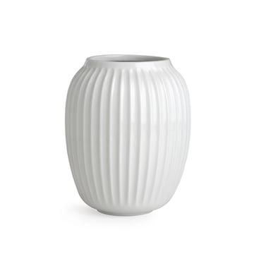 Hammershøi Vase H 20 cm von Kähler Design in Weiß