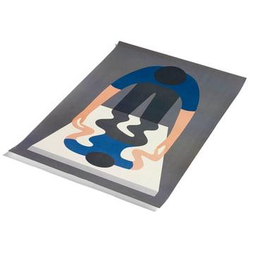 You As A Mirror by Geoff Mcfetridge Poster 70 x 100 cm von Hay