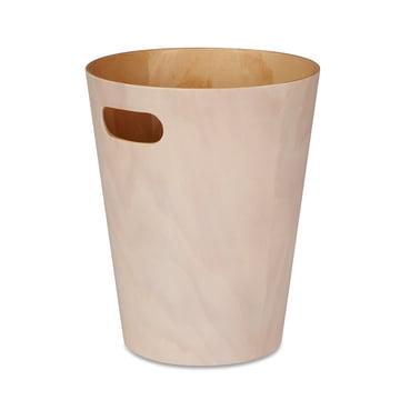 Der Umbra - Woodrow Papierkorb in weiß