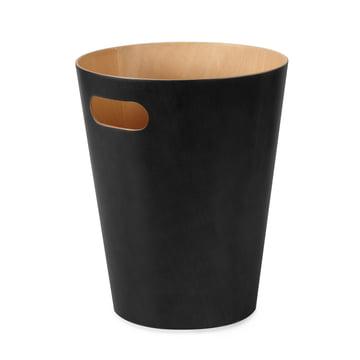 Der Umbra - Woodrow Papierkorb in schwarz