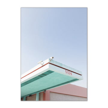 Paper Collective - Los Angeles is Pink 01, 50 x 70 cm