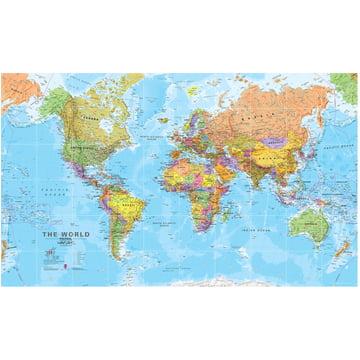 Die Welt (politisch) 200 x 120 cm von IXXI