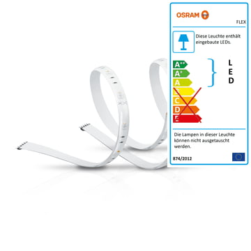 Der Osram - SMART+ Flex 2P Multicolor LED-Streifen RGBW (2x 60 cm)