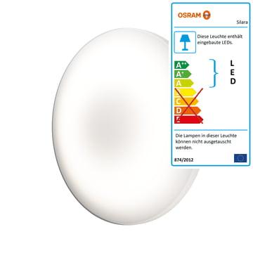 Die Osram - Silara Pure LED Deckenleuchte, Warmweiß 3000K, Ø 30 cm