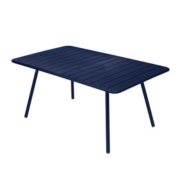 Der Fermob - Luxembourg Tisch, rechteckig, 165 x 100 cm in abysseblau