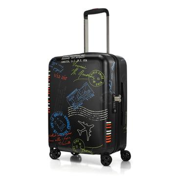 Der reisenthel - boardcase Koffer, stamps (Special Edition)
