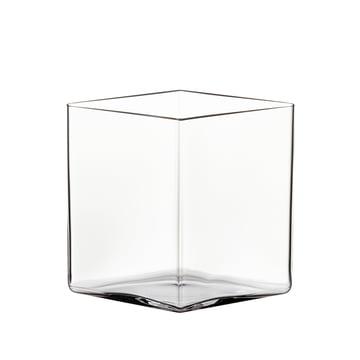 Ruutu Vase 205 x 180 mm von Iittala in klar