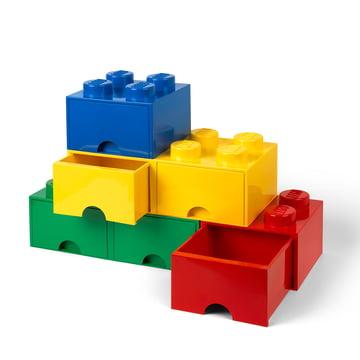 Brick Drawer 8 Aufbewahrungsschubladen von Lego