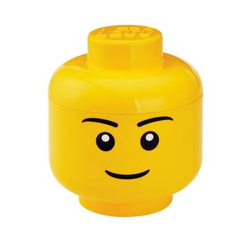 Storage Head Boy von Lego in groß