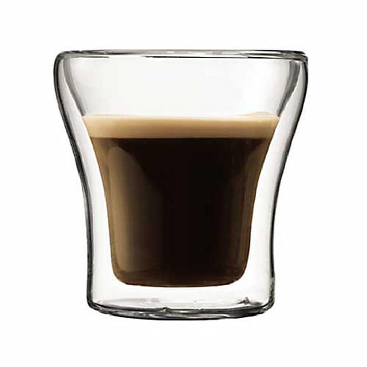 Bodum Assam, doppelwandiges Trinkglas 0.1 l