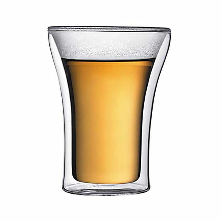 Bodum Assam, doppelwandiges Trinkglas 2.5 dl