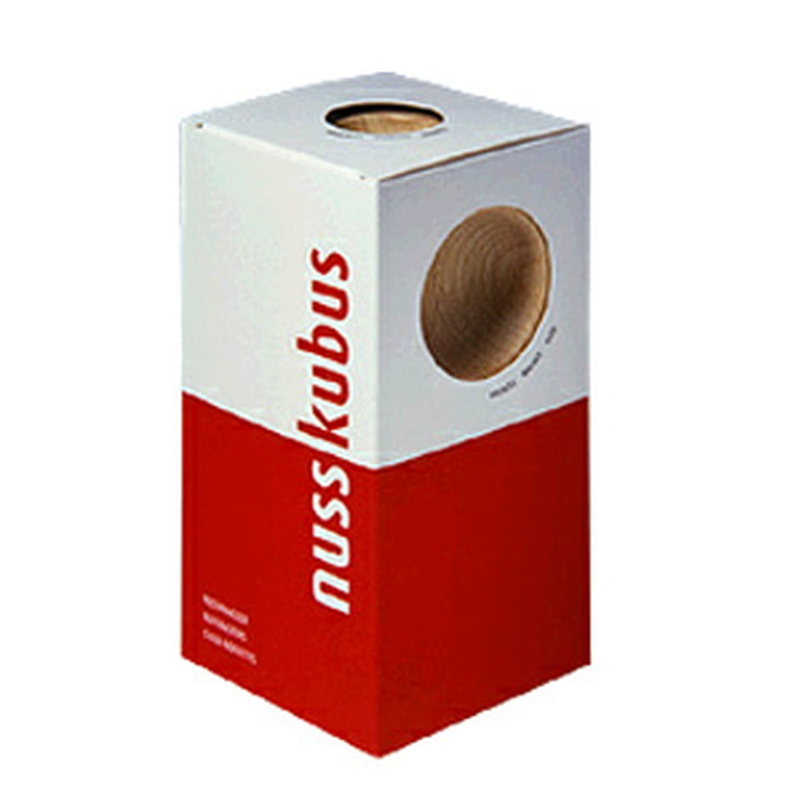 siebensachen - Nusskubus Nussknacker, Verpackung
