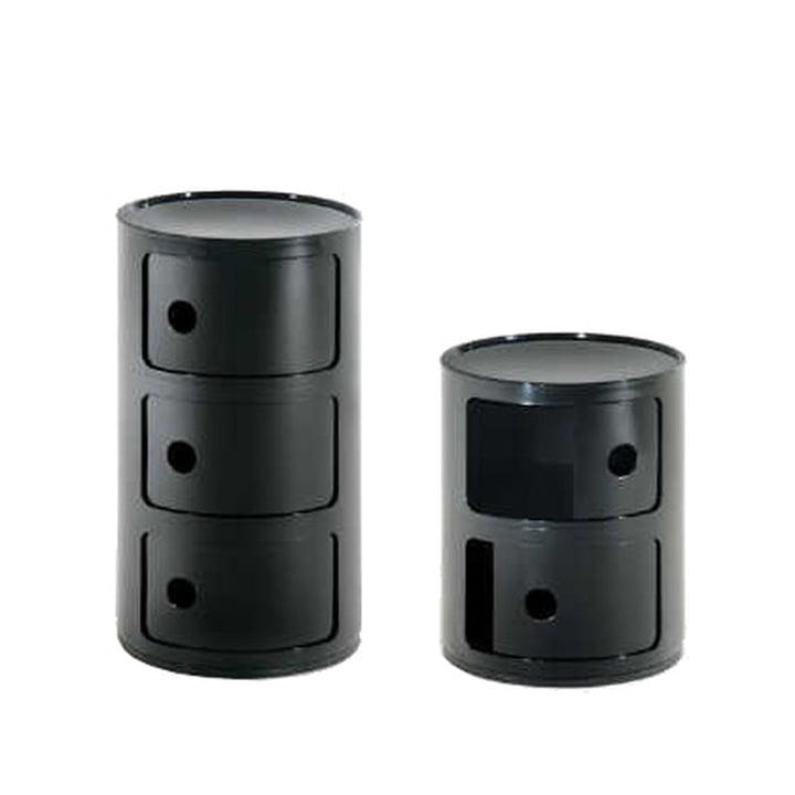 Componibili 4966 von Kartell in schwarz