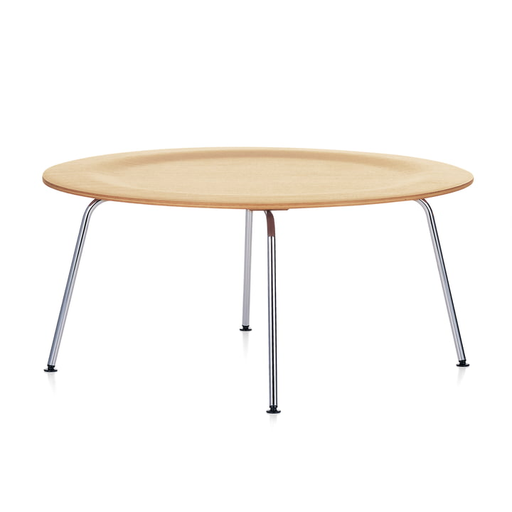 Der Vitra - Plywood Group CTM Table in Esche natur