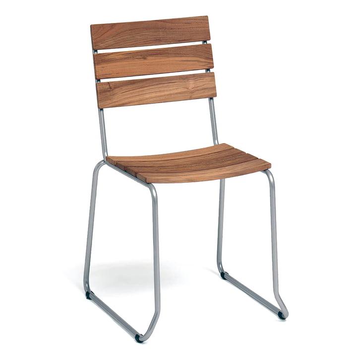 Balcony Stuhl von Weishäupl in Teak
