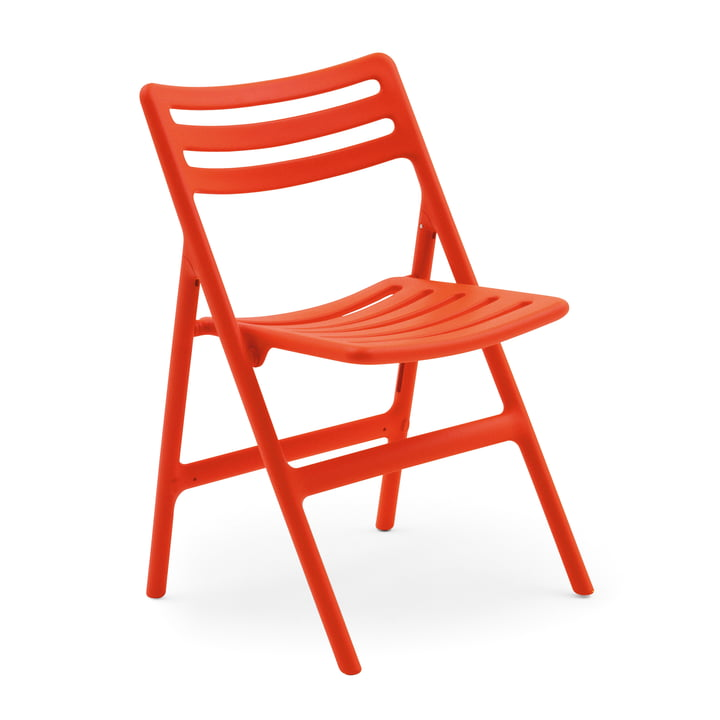 Folding Air-Chair Klappstuhl von Magis in orange