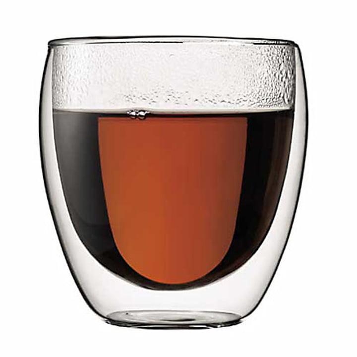 Pavina doppelwandiges Trinkglas 0.25 l (2er Set) von Bodum