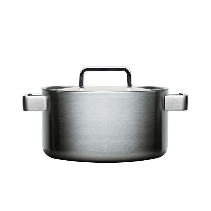 Iittala - Tools Topf mit Deckel, 22 cm, 4 l