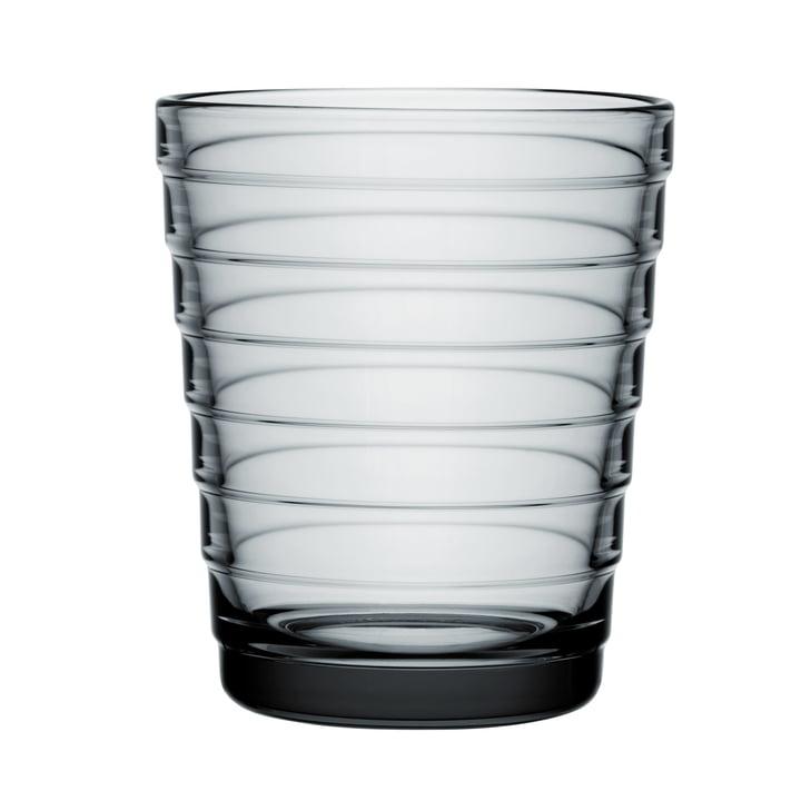 Aino Aalto Glasbecher 22 cl von Iittala in grau