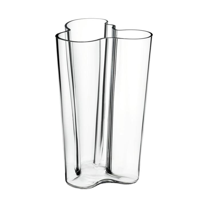 Aalto Vase Finlandia 251 mm von Iittala in klar
