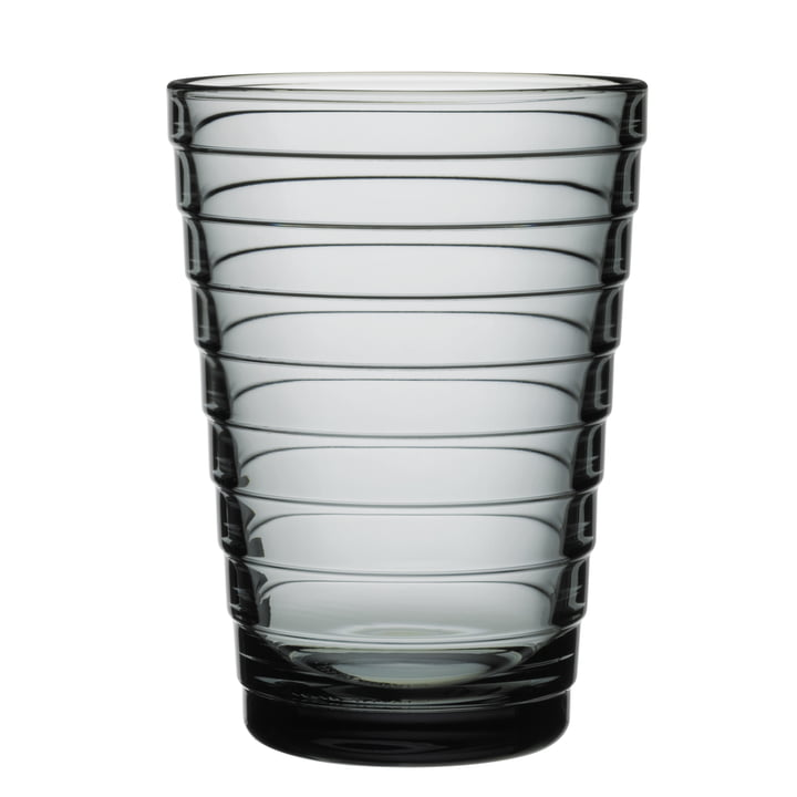 Aino Aalto Longdrinkglas 33 cl von Iittala in grau