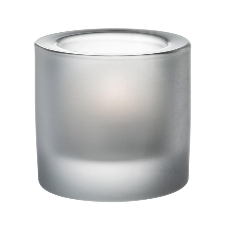 Kivi Teelichthalter von Iittala in sandgestrahlt