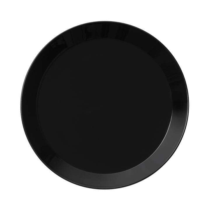 Teema Teller flach Ø 21 cm von Iittala in Schwarz