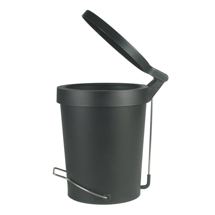 Treteimer Tip 15 Liter schwarz