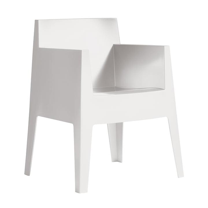 Toy Armlehnstuhl von Driade in weiß (B1)