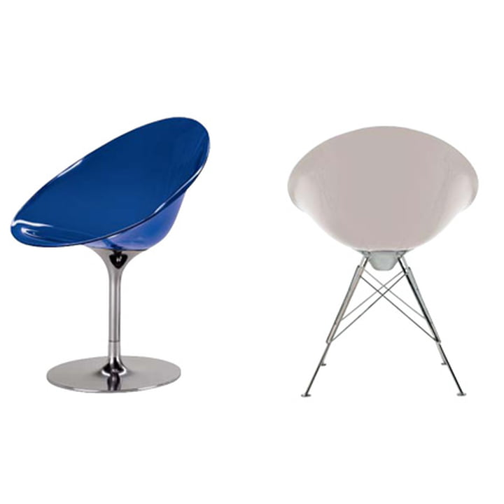 Schalensessel Ero S  von Philippe Starck für Kartell