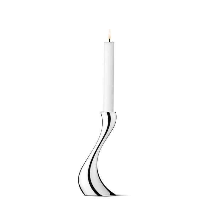 Georg Jensen - Cobra Kerzenleuchter, 20 cm