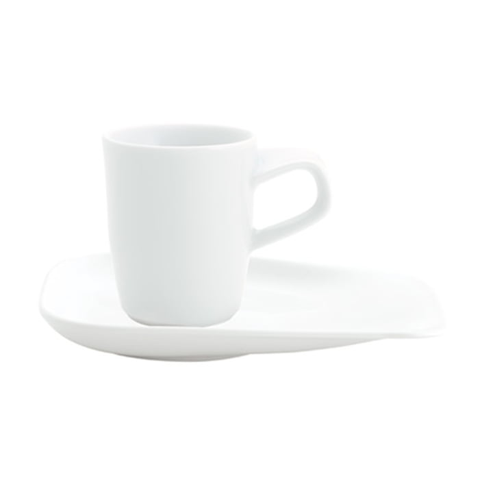Elixyr - Untertasse, 13cm, weiß
