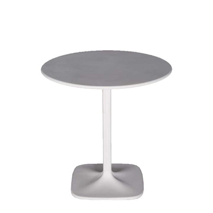 Supernatural Tisch, rund - weiß