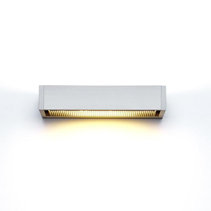 serien.lighting - SML Wandleuchte, silber eloxiert, medium