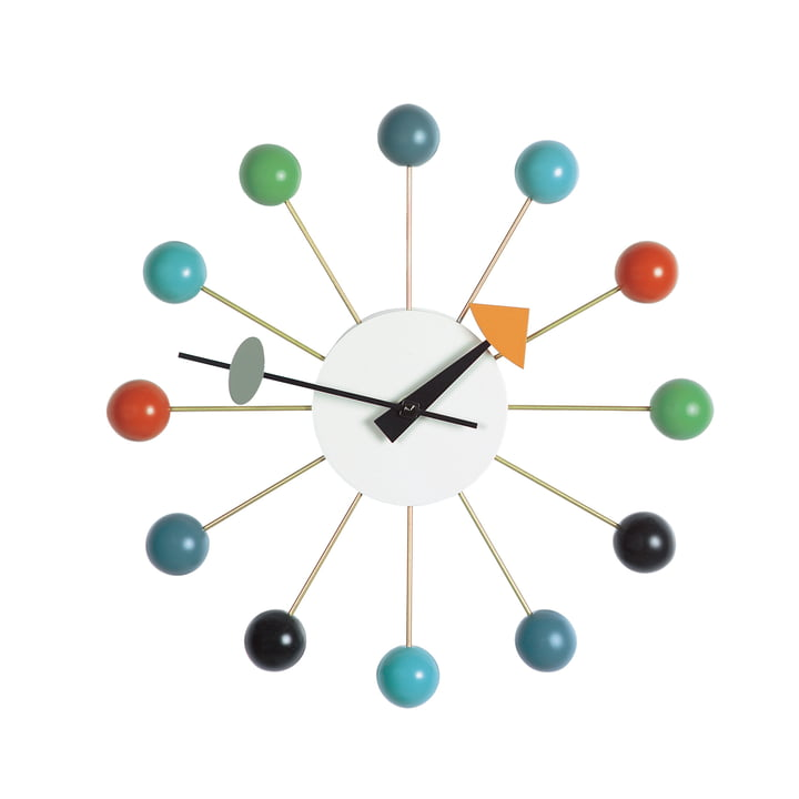 Ball Clock von Vitra in Bunt