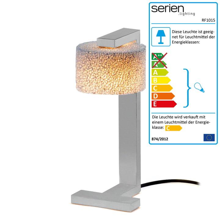 serien-lighting - Reef Table Lamp brushed aluminium