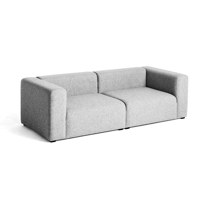 Mags Sofa 2,5-Sitzer, Kombination 1 von Hay in Hellgrau (Hallingdal 130)