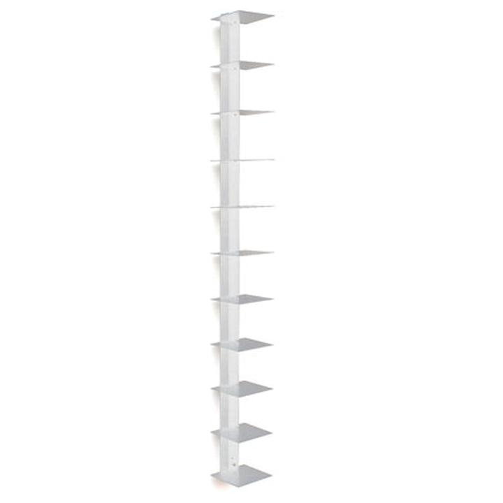 Bücherturm - weiß (1,00m)