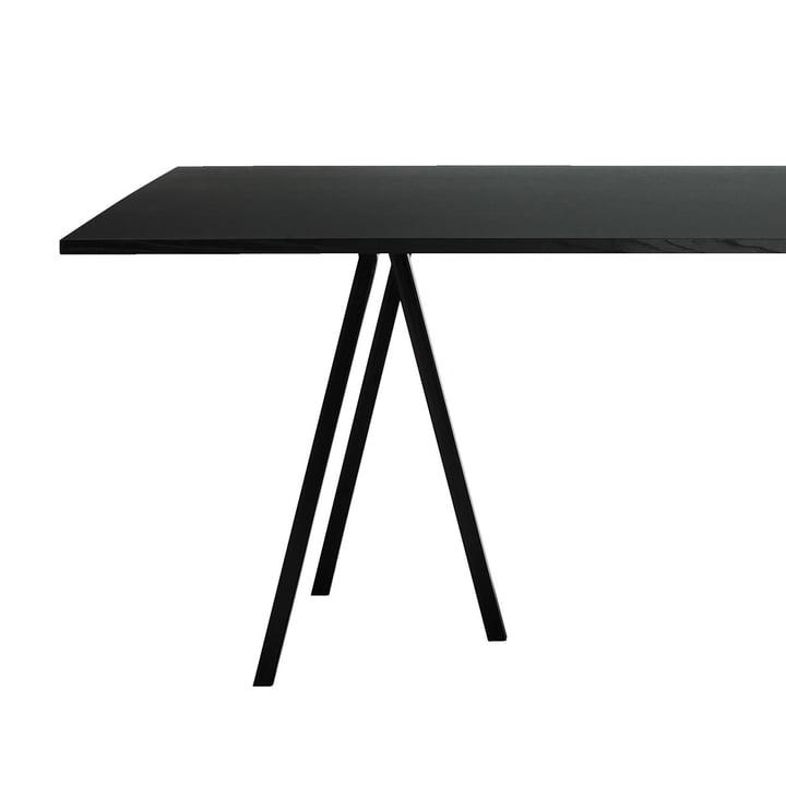 Loop Stand Frame Tischböcke mit Tischplatte von Hay