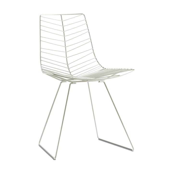 Leaf Stuhl, weiß