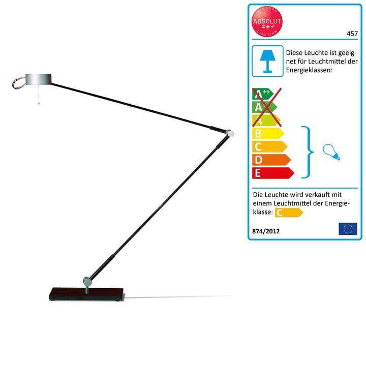 Absolut Lighting - Schreibtischleuchte, Standfuß, 50W