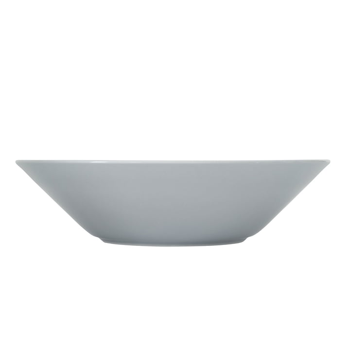 Teema Schale / Teller tief Ø 21 cm von Iittala in Perlgrau