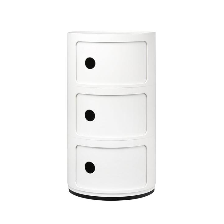 Componibili 4967 von Kartell in weiß