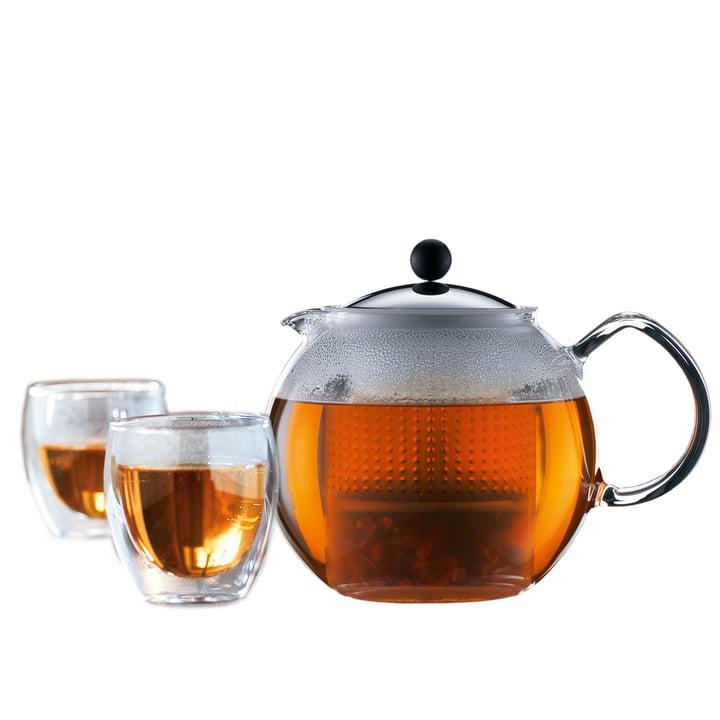 Bodum Assam Tee-Set (Teebereiter und Gläser) Sonderangebot!