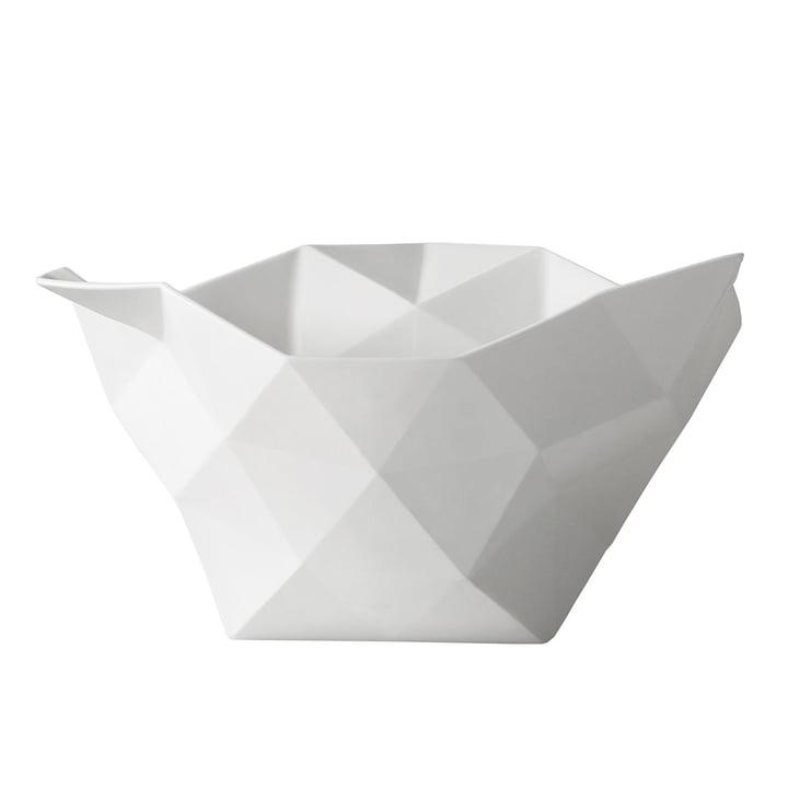 Crushed Schale groß von Muuto in weiß
