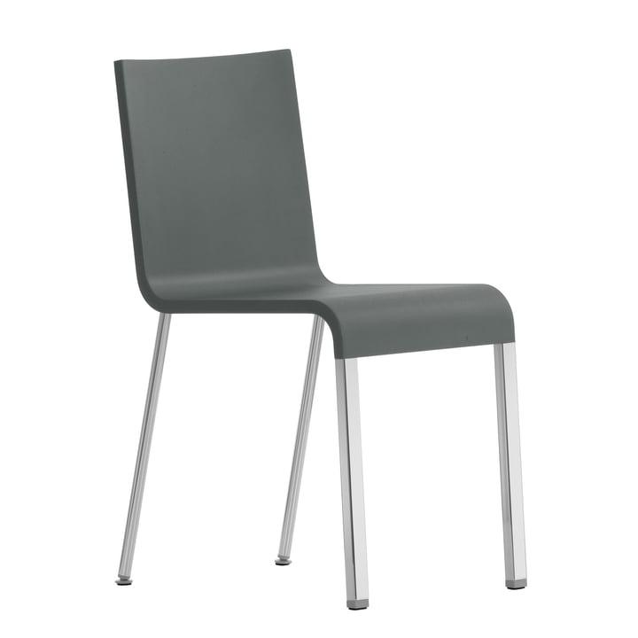 .03 Stuhl von Vitra in Silber/ Grau