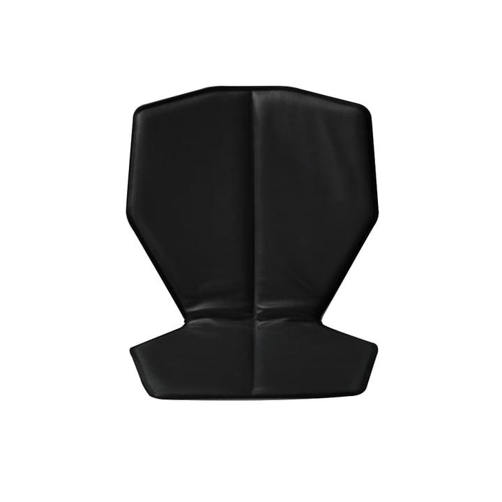 Sitz- und Rückkissen Chair One Lederbezug von Magis in Schwarz