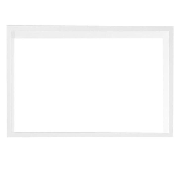 Muuto - Stacked Regalmodul ohne Rückwand, large / weiß