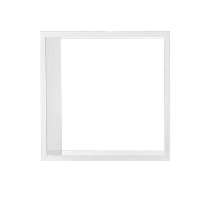 Muuto - Stacked Regalmodul ohne Rückwand, medium / weiß